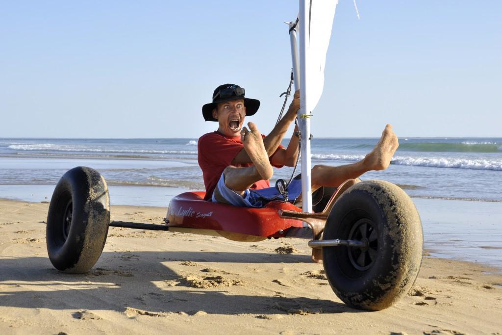 Aerobeach Char A Voile Teleski Nautique De Vendee Atlantic Wakepark Just Ride It