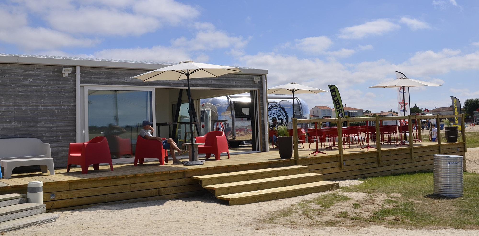 Snack-bar aiguillon sur mer